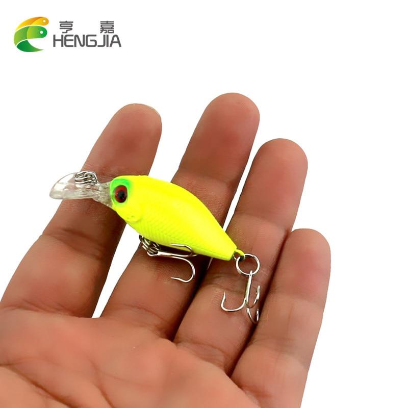 1 unid Super Mini Crank Crankbait atraer a la pesca Bass Cebo Wobbler Señuelo de