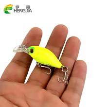 1pc Super Mini Crankbait fishing lure Crank Bass Bait Wobbler Fishing Lure Hard Fishing Tackle Plastic Fishing Bait 5cm 4.4g