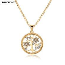 Женское Ожерелье дерево toucheart ожерелье с кристаллами в стиле