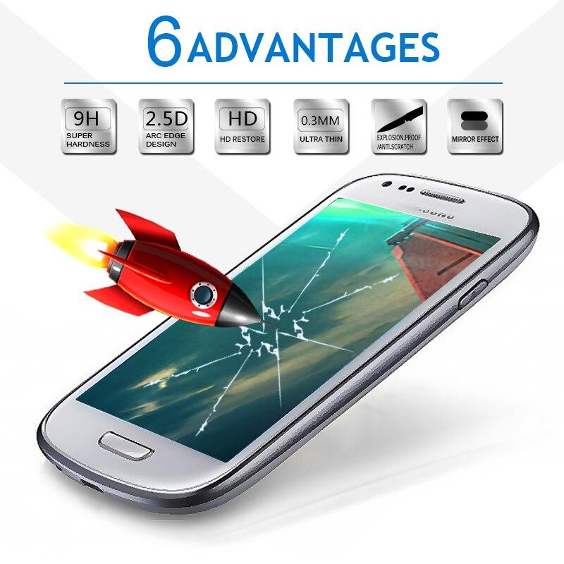 Samsung Galaxy S7 S6 A5 A3 G530 Tempered Glass 0.3mm Ultra İncə - Cib telefonu aksesuarları və hissələri - Fotoqrafiya 4