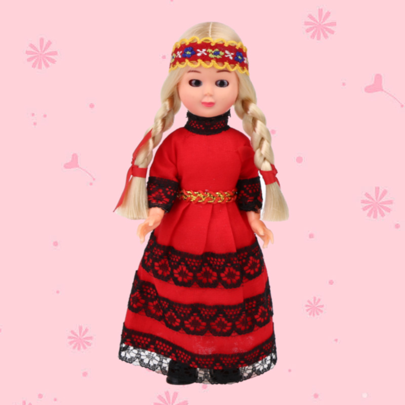 Mini Dolls 5.5inch Spain Ethnic Dolls Yong Woman Clothes Baby Ethnic Dolls Hot Children's Gift Kid Toys for Girls/Boys 1001-015