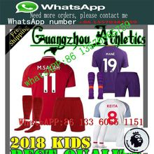 8f3607e0aeb LISM 2019 Top AAA Thai Full Liverpools Children football jersey kit sock 18 19  Home