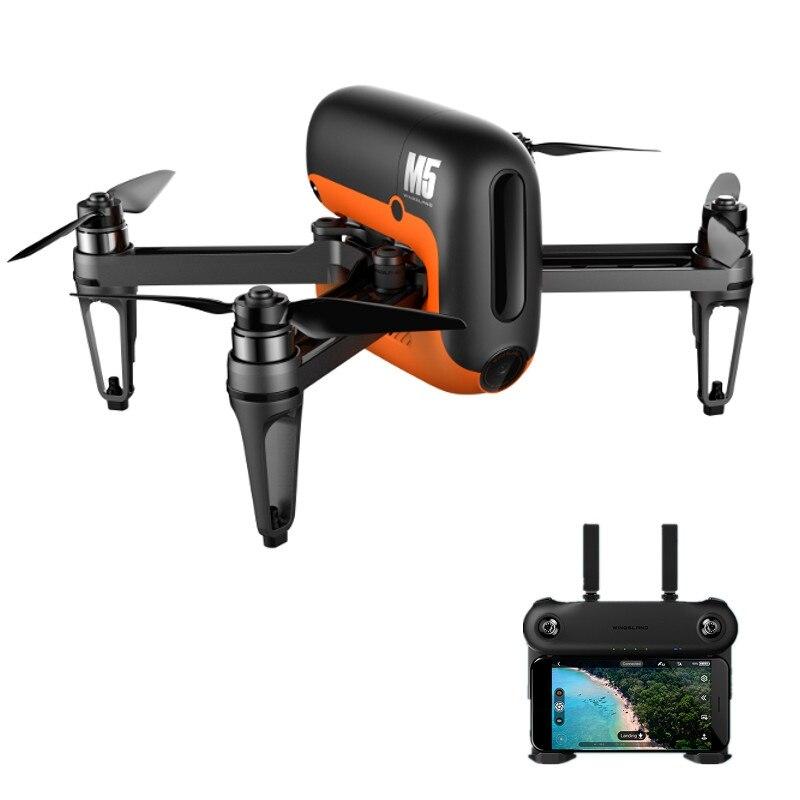Высокое качество Wingsland M5 бесщеточный gps WI FI с видом от первого лица 720 P Камера для гоночного дрона радиоуправляемого квадрокоптера RTF VS Hubsan