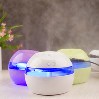 DC 5V Ultrasonic Air Aroma Humidifier Color LED Lights Electric Aromatherapy Essential Oil Aroma Diffuser Free
