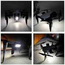 STARTRC DJI Mavic hava drone kameralı dört pervaneli helikopter genişletilmiş lanidng dişli ve led ışık kiti için DJI Mavic hava