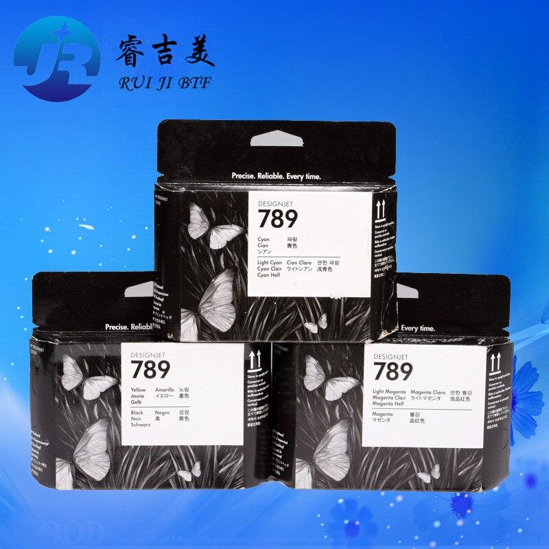 Original CH612A CH613A CH614A pour HP789 tête d'impression compatible pour HP L25500 25500 tête d'imprimante expiré 789 tête d'impression