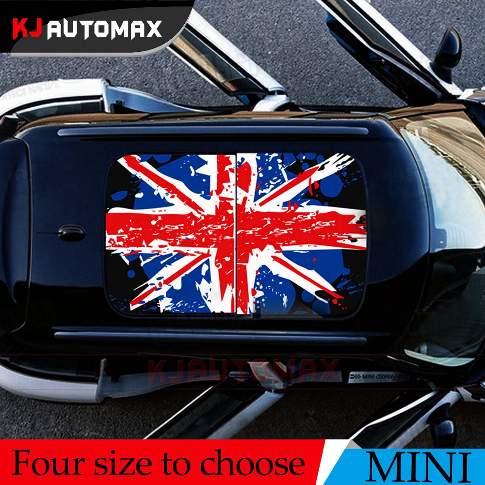 For Mini Cooper Roof Decal Perforated Vinyl Sticker Sunroof ...