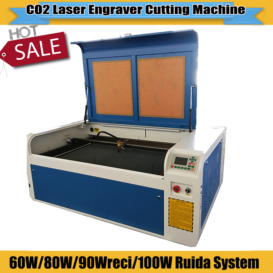 JIN ZHI YIN New CNC Laser Wood Engraving Machine Co2 Laser Engraver And Cutter Machine 6090 With USB Port For Sale