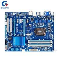 Gigabyte GA Z77 D3H 100% Оригинал материнская плата LGA 1155 DDR3 USB3.0 32 г Z77 Z77 D3H настольных плата SATA III Systemboard используется