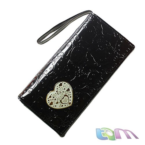 2012 New arrial /Hotsale++Hello Kitty card holder/Cartoon wallet/pink,black,white,gold/W10-23 - Best-Buy Store(min,order $10 store)