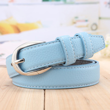 casual cowskin leather belts for women Ms. leather belt 2016 new fashion rivets Buckle Belt vintage jeans for women
