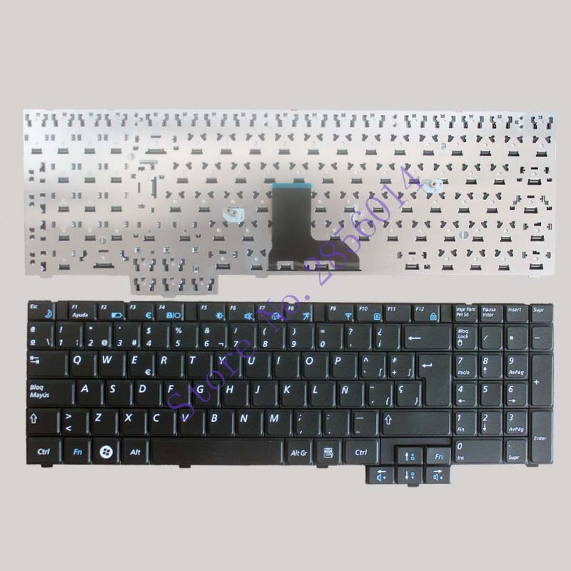 NEW! SP Keyboard for Samsung R620 R528 R530 R540 NP-R620 R525 NP-R525 R517 R523 RV508 Spanish Black laptop keyboard