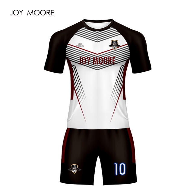 86bd86e64f4 joy moore Men s Soccer Jerseys Custom Male Soccer Uniforms Football Kit  Breathable Football Shirts Short Tracksuits for Team. Price