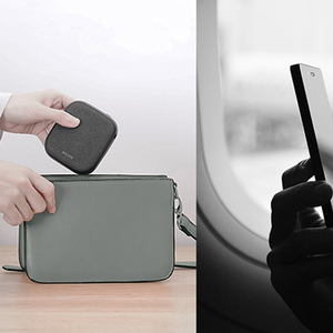 Image 4 - Xiaomi SOLOVE 10000mAh cargador inalámbrico 2.1A carga rápida cargador ultrafino de teléfono móvil para iPhone Xiaomi Tablet
