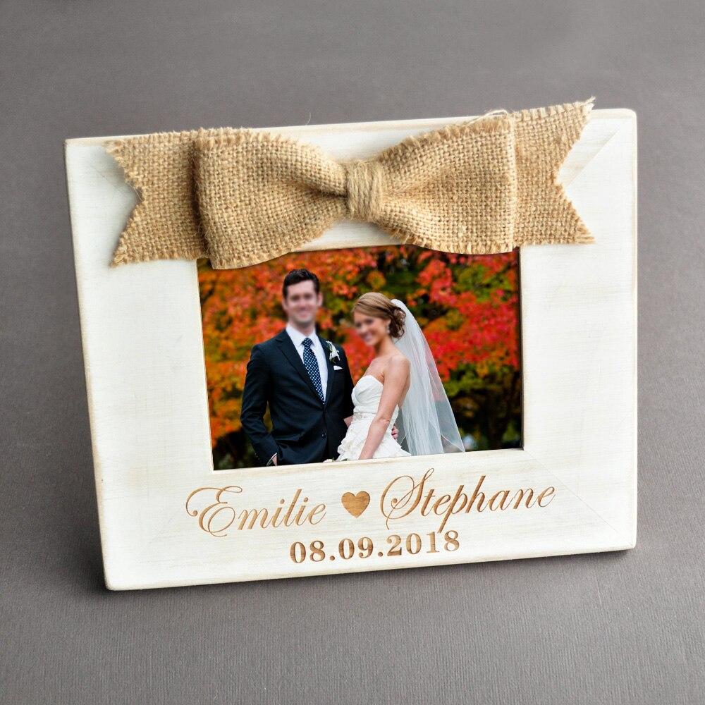 Imagen personalizada Marcos boda Marcos foto Marcos regalo de boda ...