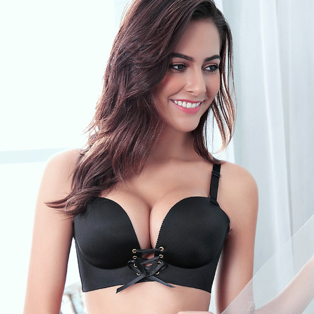 313069bca16 Fatimu Sexy Women Push Up Bras Underwear Padded Sexy Seamless One Piece Push  Up Bras Brassiere Unlined Seamless Bra for Women