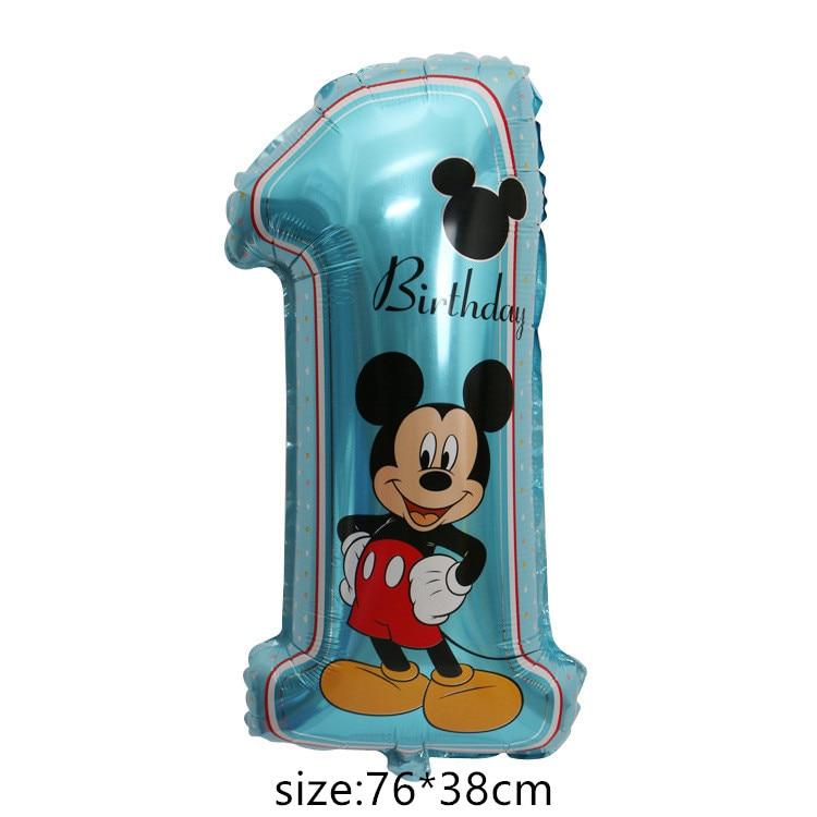 Гигантский мультяшный милый мышонок мультяшный воздушный шар из фольги воздушный шар детский день рождения украшения Классические игрушки подарок мультяшная шляпа - Цвет: 9