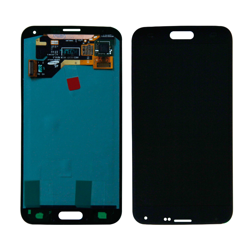 LCD <font><b>Display</b></font> For <font><b>Samsung</b></font> Galaxy S5 i9600 G900A G900P <font><b>G900F</b></font> G900 LCD <font><b>Display</b></font> Touch Screen Digitizer Assembly Replacement image