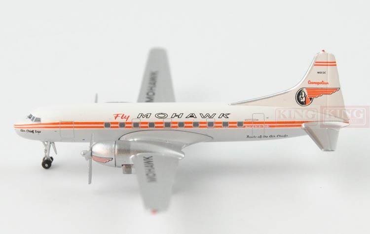 acn1013c mohawk cv 240 n1013c 1 400 aeroclassics commercial jetliners plane model hobby