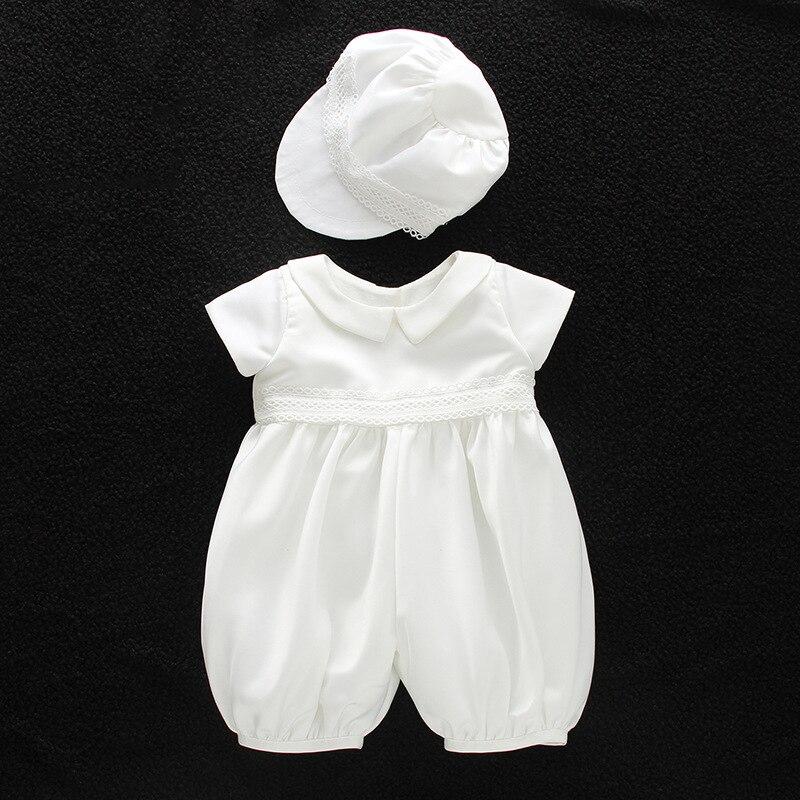 ABWE Best Sale DMfgd Maggie version of the European baptism boys baby baby full moon months wine lingerie hat dress suit set