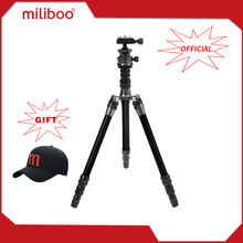 "miliboo MEA Portable Aluminum Light Weight Travel Tripd 52""/135 cm Come with Quick Release Plate Ball Head for Camera Canon(China)"