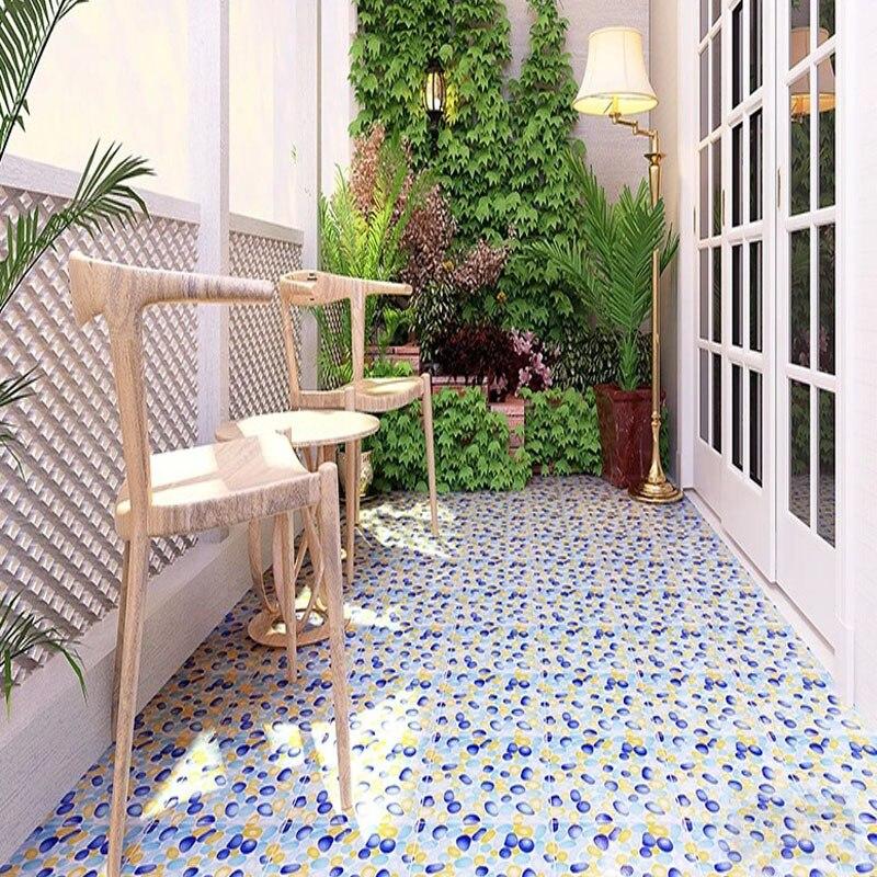 300x300mm Rustic Ceramic Polished Tiles Balcony Tiles Non Slip