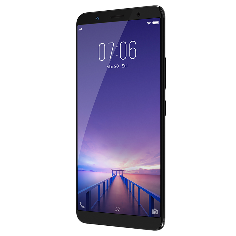Global Version VIVO X20 Mobile phone 4GB RAM 64GB ROM 6.01 inch Full Screen Ocat Core Android 7.1 Dual Rear Camera 4G LTE Phone ...