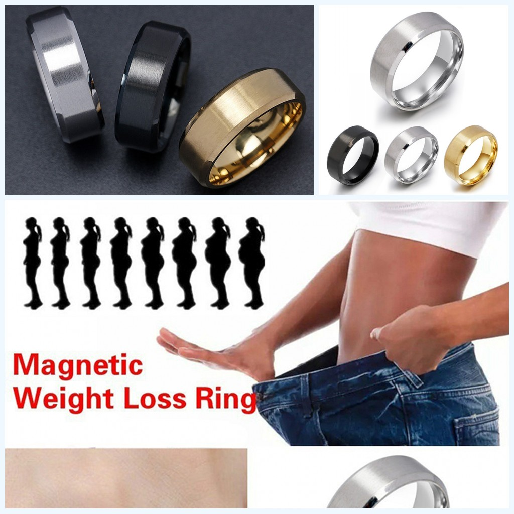 Magnetic Medical Weight Loss Ring Slimming Tools Fitness Reduce Weight Ring Slimming Promote Blood Circulation Health Ring