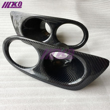 Carbon Fiber Front Fog Light Cover For BMW E46
