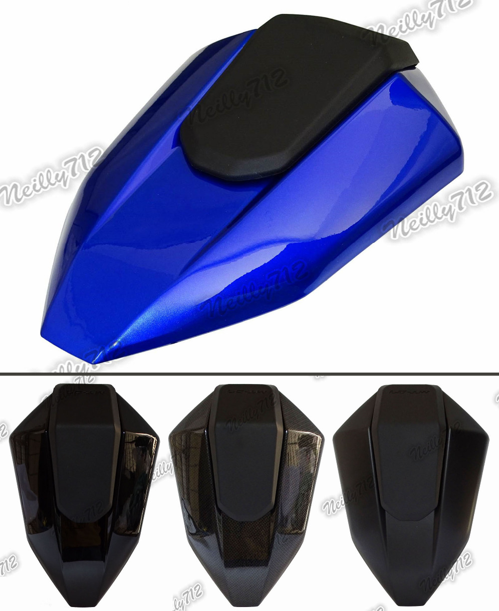 waase Rear Seat Cover Tail Section Fairing Cowl For Yamaha MT-07 MT07 FZ-07 FZ07 2014 2015 2016 for yamaha mt 07 fz 07 mt07 fz07 rear seat cover cowl painted abs plastic for yamaha mt 07 fz 07 mt07 2014 2015 2016 new arrival