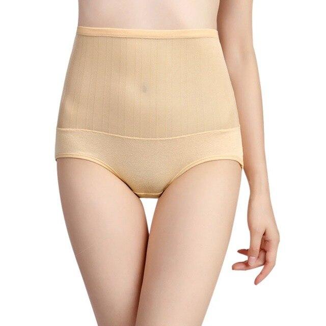 7b7b00b2ea Tummy Control Body Shaper Sexy Women High Waist Briefs Slimming Pants Woman  Panties Underwear