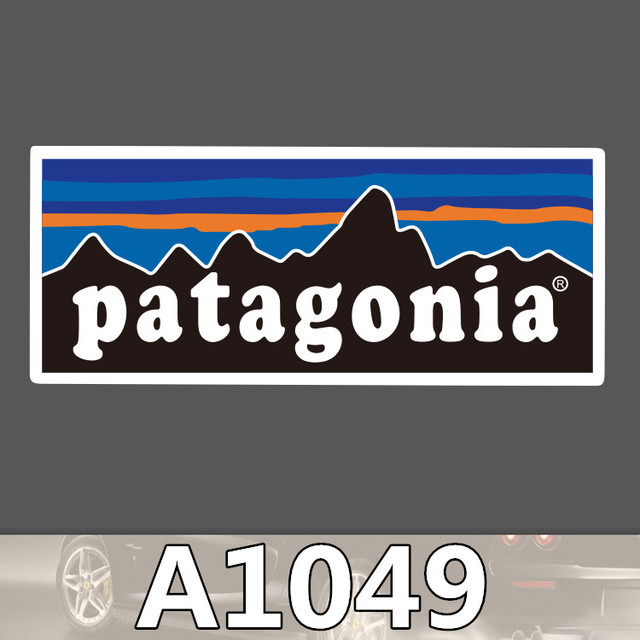 US $0 39 |A1049 Patagonia Skateboard Graffiti Notebook Motor Suitcase  Stickers Decal Fridge Laptop Waterproof Sticker for Car-in Stickers from  Toys &