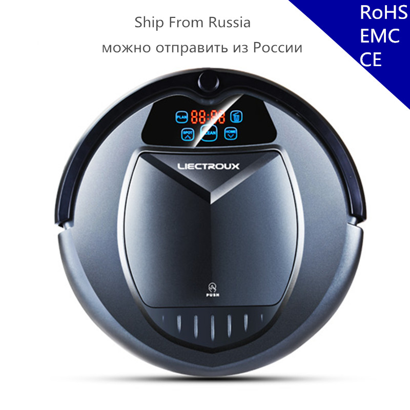 (Ship from Russia) Updated B3000PLUS Robot Vacuum Cleaner,Wet and Dry Cleaning with Water Tank,Big Mop,Schedule,SelfCharge optimal and efficient motion planning of redundant robot manipulators
