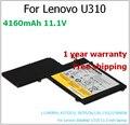 Новый L11M3P01 4160 мАч аккумулятор для ноутбука lenovo l11m3p01, 43752cu, 3ICP5 / 56 / 120, 11S121500058 IdeaPad U310 13.3 дюймов ноутбук