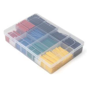 Image 3 - 530 قطعة متعدد الألوان الحرارة يتقلص أنابيب العزل تقلص تشكيلة الإلكترونية نسبة البولي أوليفين 2:1 التفاف كم أنبوب عدة