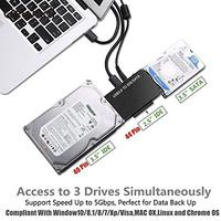 Hard Disk Adapter HDD Adapter Hard Drive Adapter SATA IDE To USB 3.0 External Portable Storage High Speed 2.5/3.5 Inch