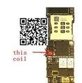 3 unids/lote para iphone 6 6 plus l1401 bobina lógica parte fija a bordo