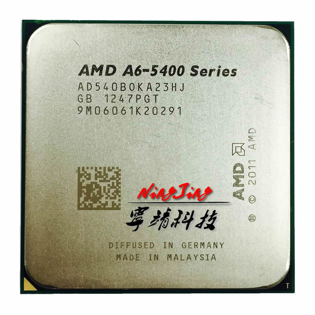 Amd A6 Series A6 5400 A6 5400B AD540BOKA23HJ 540B 36
