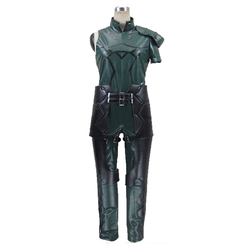 Fate Zero Fate stay night Lancer Uniform COS Clothing Cosplay Costume,Customized Accepted