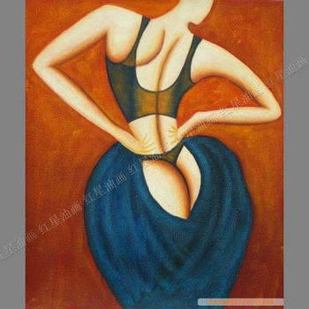 Painting Modern Hand Painting Oil Ppainting Living Room/Bedroom Decorative Painting Frameless Painting Abstract Painting Figure фото
