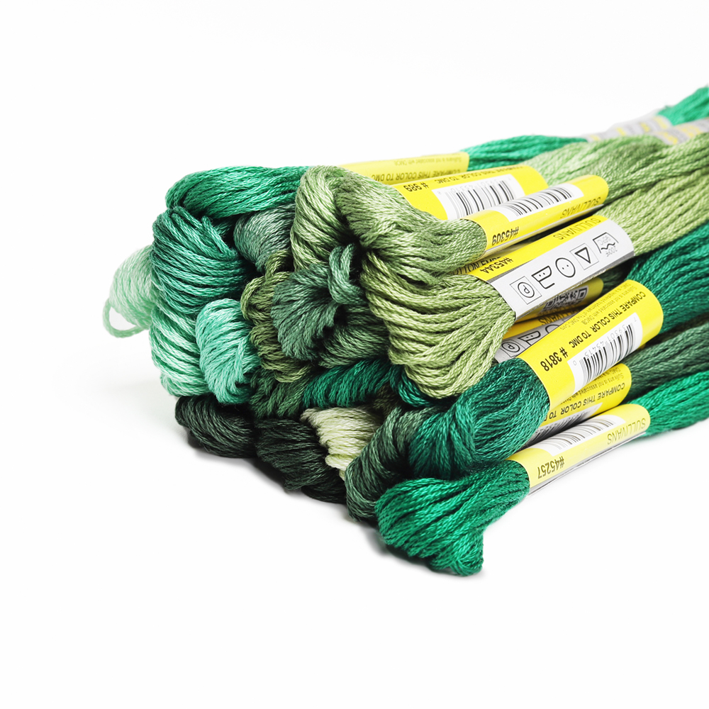 DMC 959 turquoise green stranded floss embroidery thread brand new