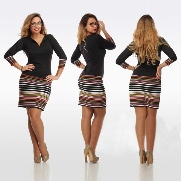 3xl 4xl <font><b>5xl</b></font> <font><b>6xl</b></font> <font><b>plus</b></font> <font><b>size</b></font> <font><b>dress</b></font> v neck full sleeve knee high bodycon <font><b>sexy</b></font> <font><b>dresses</b></font> <font><b>plus</b></font> <font><b>size</b></font> <font><b>women</b></font> <font><b>clothing</b></font> image