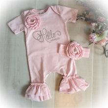 Baby Girls 3D Flower Romper