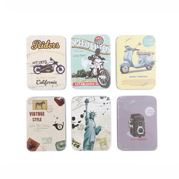 Mini Tin Metal Box Sealed Jar Packing Boxes Jewelry, Candy Box Small Storage Cans Coin Earrings Headphones Gift Box