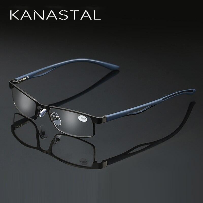 KANASTAL Reading-Glasses Business-Presbyopia Full-Frame Women Costom