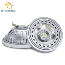 AR111 LED Spotlights COB G53 GU10 Lamp Light DC12V AC110V 220V 12W 15W Bulb Cold White Warm White Factory Price