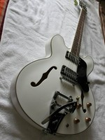 Toptan G Cnbald Caz Gitar 1959 ES-335 ES355 elektrik gitar köprü bigsby Beyaz ES 355 110226
