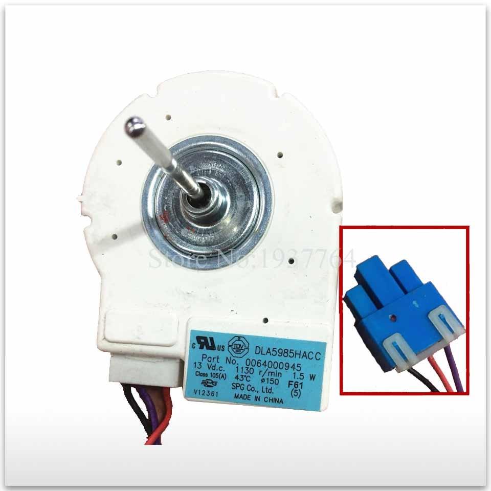 2pcs/lot for good working High-quality for refrigerator DLA5985HACC 0064000945 10v Fan Motor2pcs/lot for good working High-quality for refrigerator DLA5985HACC 0064000945 10v Fan Motor