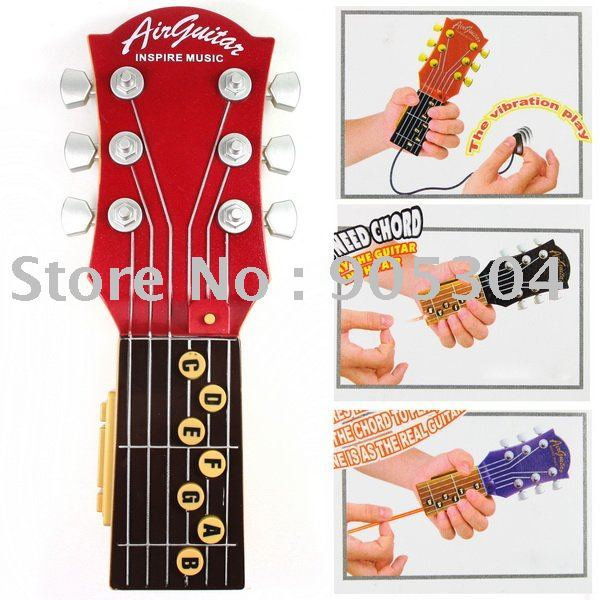 900445-KPT-001 Infrared Rhythm Inspire Music Mini Electronic Air Guitar Free Shipping