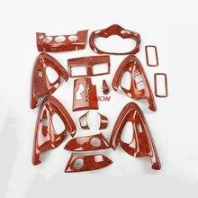 Подходит для Toyota RAV4 2009-2013 интерьер ремонт углеродного волокна стикер Центрального управления дверь подлокотник патч стайлинга автомобилей
